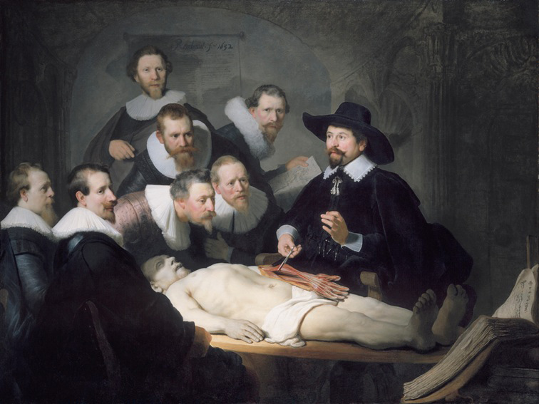 Rembrandt's 'De anatomische les'